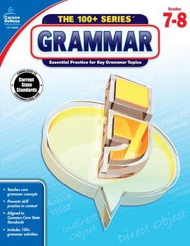 The 100+ Series Grammar Grades 7-8 SALE 20% OFF 104838