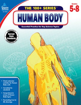 The 100+ Series Human Body Grades 5-8 SALE 20% OFF 104641