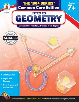 The 100+ Series Intro to Geometry Grades 7-9 SALE 20% OFF 704387