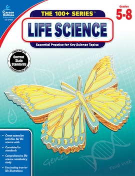 The 100+ Series Life Science Grades 5-8 SALE 20% OFF CD-104639