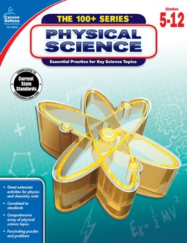The 100+ Series Physical Science Grades 5-12 SALE 20% OFF 104642