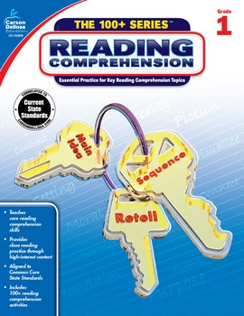 The 100+ Series Reading Comprehension Grade 1 SALE 20% OFF 104839
