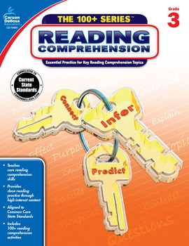 The 100+ Series Reading Comprehension Grade 3 SALE 20% OFF 104841