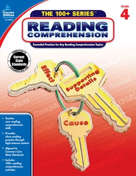 The 100+ Series Reading Comprehension Grade 4 SALE 20% OFF 104842