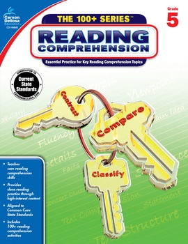 The 100+ Series Reading Comprehension Grade 5 SALE 20% OFF 104843