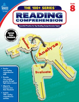 The 100+ Series Reading Comprehension Grade 8 SALE 20% OFF 104858