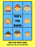The 100's Day Bunch...A 100's day song to the tune of The Brady Bunch!!
