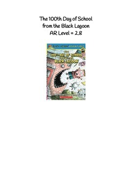 The 100th Day of School from the Black Lagoon
