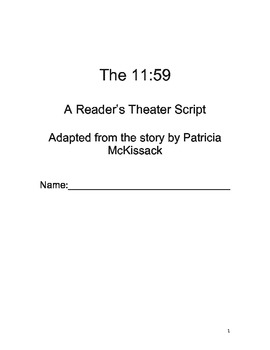 The 11:59: A Reader's Theater Script (Black History, Oral History, Folklore)