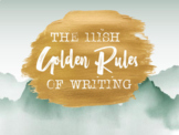 The 11ish Golden Rules of Writing