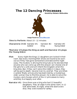 The 12 Dancing Princesses - Small Group Reader's Theater