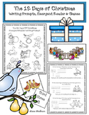 Christmas Activities: The 12 Days of Christmas: Writing, Emergent Reader, & Game