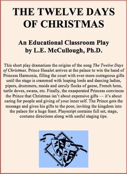 Short Christmas Play.The 12 Days Of Christmas A Christmas Play