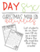 The 12 Days of the Holidays Activities