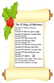 The 12 Days of Christmas - Activities for School