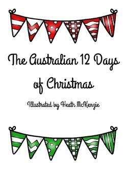 The 12 Days of Christmas Australian Text Activities