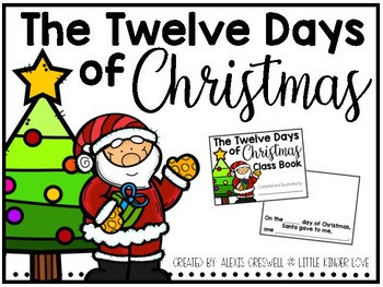 The 12 Days of Christmas Class Book