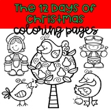 The 12 Days of Christmas Coloring Pages