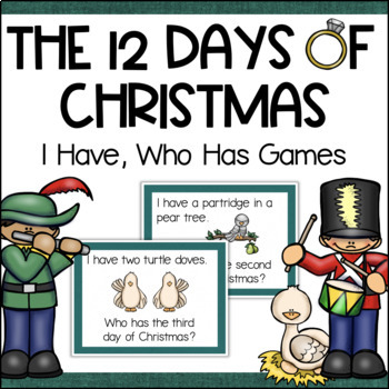12 Days of Christmas I Have, Who Has Game