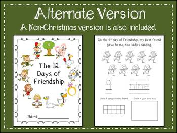 The 12 Days of Christmas Number Book