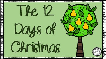 The 12 Days of Christmas Sing-a-long