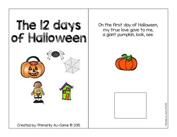 The 12 Days of Halloween?! (Interactive Counting Book)