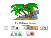 The 12 Days of Summer Vacation Book by Lyn Phoenix