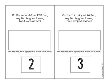 The 12 Days of Winter?!  (Interactive Counting Book)