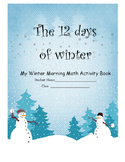 The 12 Days of Winter Math Activity Book