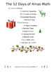 The 12 Days of Xmas Math