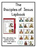 The 12 Disciples of Jesus Lapbook Freebie