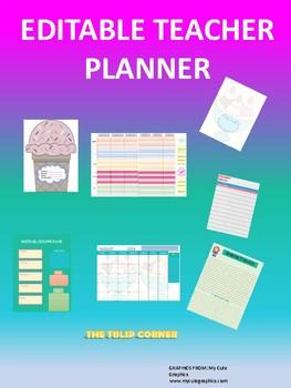 TEACHER PLANNER 2018- 2019