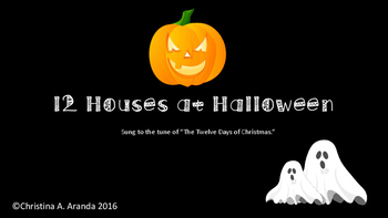 The 12 Houses on Halloween