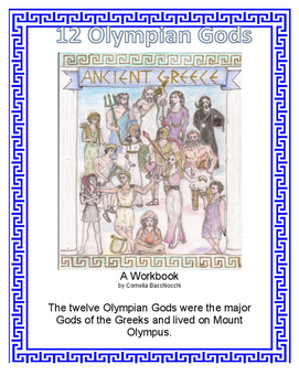 The 12 Olympian Gods and Heroes