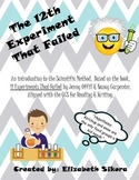 The 12th Experiment That Failed: An Introduction to the Scientific Method