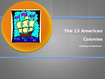 The 13 American Colonies