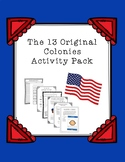 The 13 Colonies Activity Pack