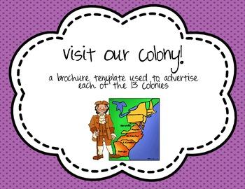 The 13 Colonies Brochure