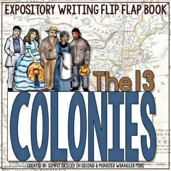 The 13 Colonies Flip Flap Book®