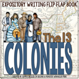 The 13 Colonies Flip Flap Book® | Distance Learning