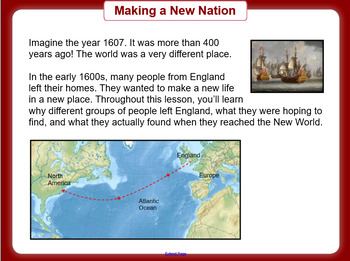 The 13 Colonies - Making a New Nation