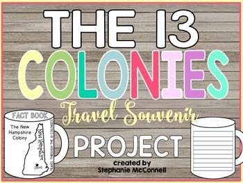The 13 Colonies Souvenier Mug Fact Book