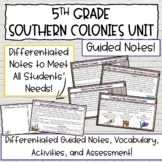 The 13 Colonies   The Southern Colonies