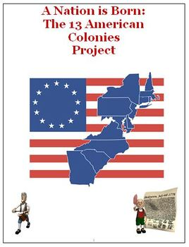 American Revolution 13 Colonies Bundle of Activities