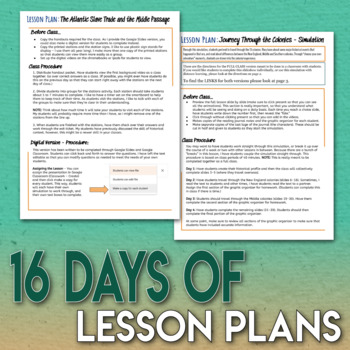 The 13 (Thirteen) Colonies Full Unit Bundle 4 Engaging Lessons and Assessment