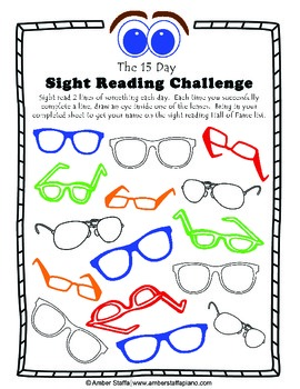 The 15 Day Sight Reading Challenge