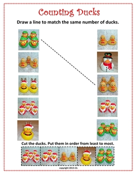The 15 Ducks of Christmas Silly Math & Language Arts for K-1
