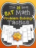 The 16 Best SAT Math Problem Solving Tactics