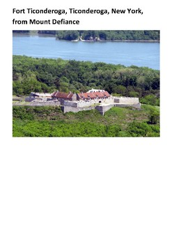 The 1777 Siege of Fort Ticonderoga Handout