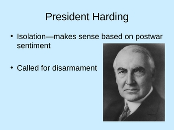 The 1920's:  A Republican Decade Powerpoint